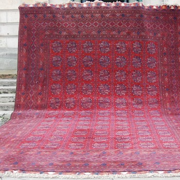 A North Afghan carpet, 20th century, sold for £900