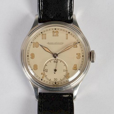 A Jaeger-Le Coultre gentlemans wristwatch, sold for £380