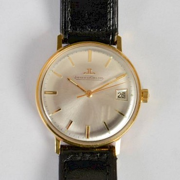 A Jaeger-Le Coultre gentlemans wristwatch, sold for £500