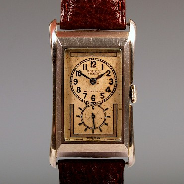A Rolex Prince stainless steel wristwatch, circa 1930, sold for £3,800
