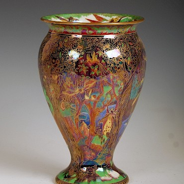 A Wedgwood Fairyland lustre vase designed by Daisy Makeig-Jones, sold for £3,200