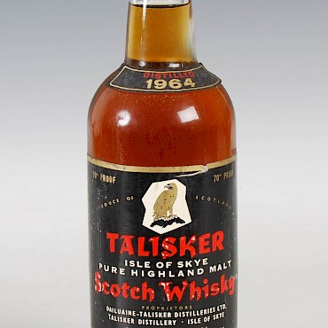 Talisker Pure Highland Malt Scotch Whisky, 1964, sold for £700