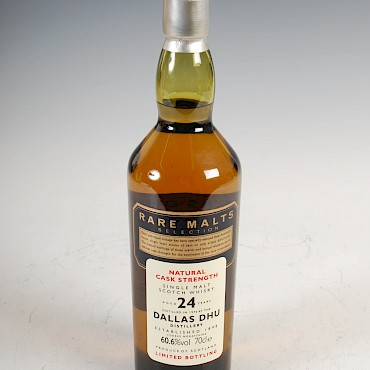 Rare Malts Dallas Dhu Distillery Single Highland Malt Scotch Whisky, aged 24 years, sold for £230
