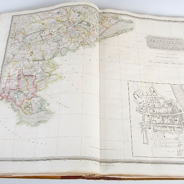 Thomson John, The Atlas of Scotland, sold for £1,150