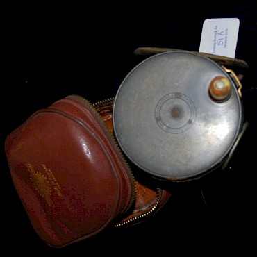 Lot 51A. Hardy Bros. Perfect fishing reel, sold for £370